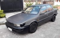 Grey Mitsubishi Lancer 1989 for sale in Quezon City