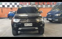 Black Mitsubishi Montero sport 2014 for sale in Quezon City