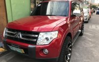 Red Mitsubishi Pajero 2008 for sale in Manila