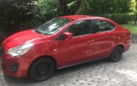 Red Mitsubishi Mirage G4 2016 for sale in Mandaluyong City