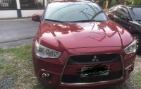 Red Mitsubishi Asx 2011 for sale in Quezon City