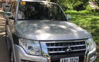 Silver Mitsubishi Pajero 2015 for sale in Manila