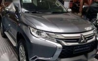 Sell Grey 2018 Mitsubishi Montero Sport in Quezon City
