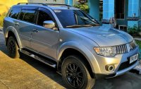 Silver Mitsubishi Montero 2011 for sale in Manila