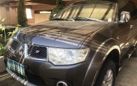 Sell Grey 2013 Mitsubishi Montero in Cebu City
