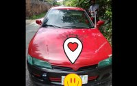Red Mitsubishi Lancer 1996 for sale in San Marcelino
