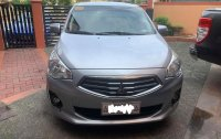 Silver Mitsubishi Mirage g4 2017 for sale in Pasay City