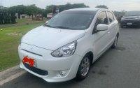 White Mitsubishi Mirage for sale in Manila