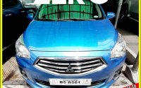 Selling Blue Mitsubishi Mirage g4 for sale in Valenzuela