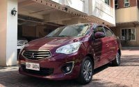 Purple Mitsubishi Mirage g4 2019 for sale in Manila