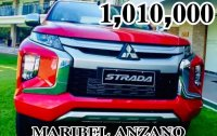 Sell Red 2019 Mitsubishi Strada in Pasig