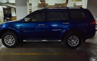 Blue Mitsubishi Montero for sale in Quezon City