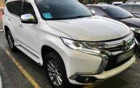 Pearl White Mitsubishi Montero sport 2016 for sale in Manila