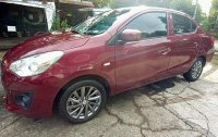 Selling Purple Mitsubishi Mirage g4 in Quezon City
