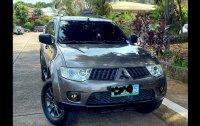 Selling Grey Mitsubishi Montero sport 2012 in Quezon City