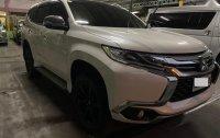 Pearl White Mitsubishi Montero sport for sale in Quezon City