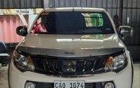 Sell White 2018 Mitsubishi Strada in General Trias