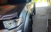 Selling Grey Mitsubishi Montero 2015 in Pampanga