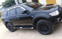 Black Mitsubishi Montero 2015 for sale in Quezon City