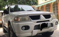 White Mitsubishi Montero sport for sale in Manila