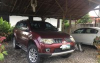 Red Mitsubishi Pajero for sale in Pampanga