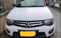 White Mitsubishi Strada 2014 for sale in Taguig