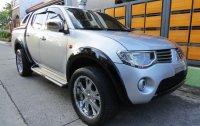 Pearl White Mitsubishi Strada 2010 for sale in Pasig