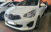White Mitsubishi Mirage g4 for sale in Quezon City