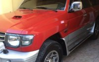 Selling Red Mitsubishi Pajero in Manila