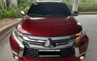 Red Mitsubishi Montero 2017 for sale in Quezon City