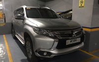 Silver Mitsubishi Montero 2017 for sale in Las Pinas