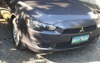 Grey Mitsubishi Lancer ex 2010 for sale in Makati City