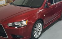 Red Mitsubishi Lancer 2010 for sale in Antipolo