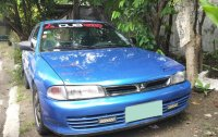 Blue Mitsubishi Lancer 1994 Wagon for sale in Manila