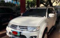 Sell White 2014 Mitsubishi Montero SPT in Manila