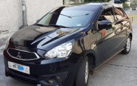Black Mitsubishi Mirage 2018 for sale in Quezon City
