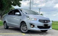 Silver Mitsubishi Mirage 2018 for sale in Manila