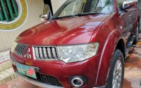 Red Mitsubishi Montero 2010 for sale in Quezon City