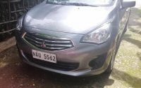 Silver Mitsubishi Mirage 2017 for sale in Angono