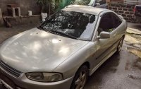 Silver Mitsubishi Lancer 2002 for sale in Manila