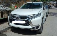 Sell White 2018 Mitsubishi Montero Sport in Quezon City