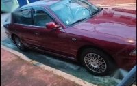 Red Mitsubishi Galant 1996 for sale in Marikina