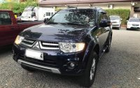 Black Mitsubishi Montero 2014 for sale in Manila