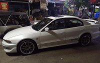 White Mitsubishi Galant Shark 2000 in Manila