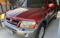 Red Mitsubishi Montero 2003 for sale in Parañaque