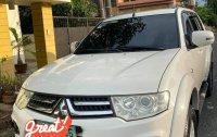 Selling White Mitsubishi Montero 2014 in Las Piñas
