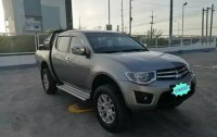 Silver Mitsubishi Galant 2014 for sale in Quezon City