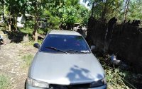 Silver Mitsubishi Lancer 2004 for sale in Quirino