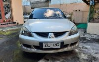 Silver Mitsubishi Lancer 2010 for sale in Rizal