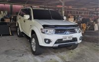 White Mitsubishi Montero 2014 for sale in Lipa